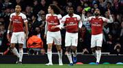 Arsenal - Valencia maçının özeti burada