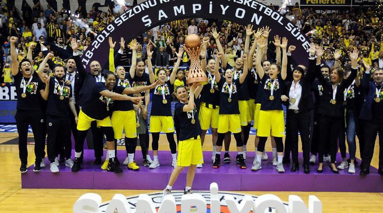 Fenerbahçe 14. kez şampiyon