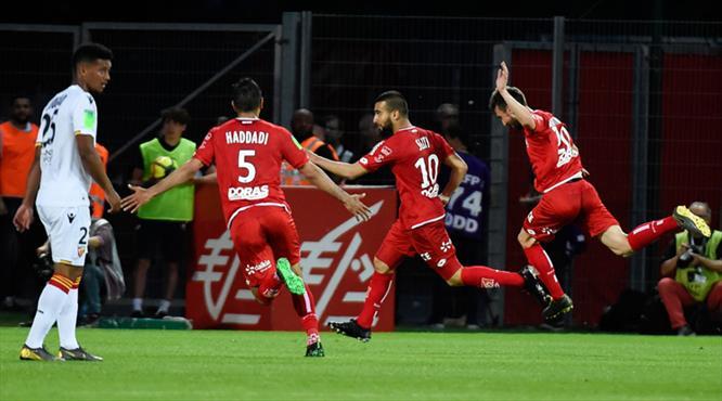 Dijon Ligue 1'e tutundu (ÖZET)
