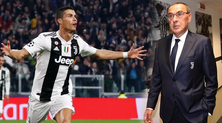 Sarri Ronaldo'nun pozisyonunu değiştiriyor