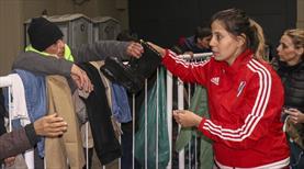 River Plate evinin kapılarını evsizlere açtı
