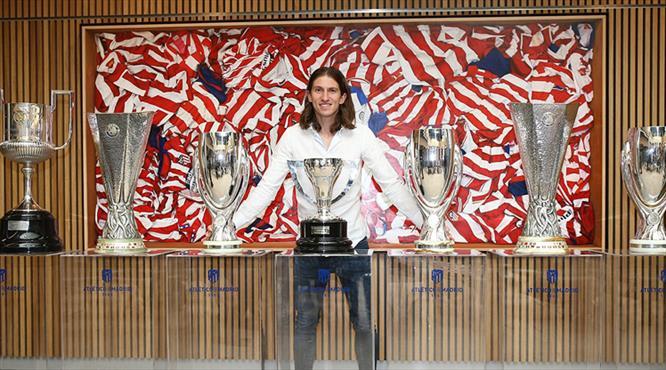 Atletico Madrid'de görkemli veda