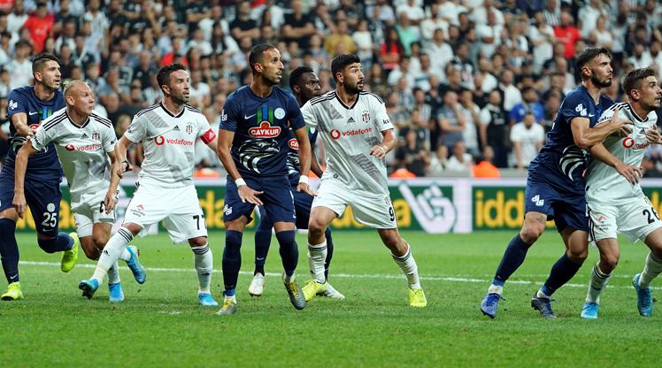 Beşiktaş - Çaykur Rizespor maçının çarpıcı notlar burada