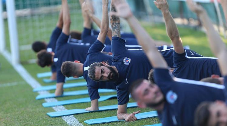 Kasımpaşa'da Galatasaray hazırlıkları