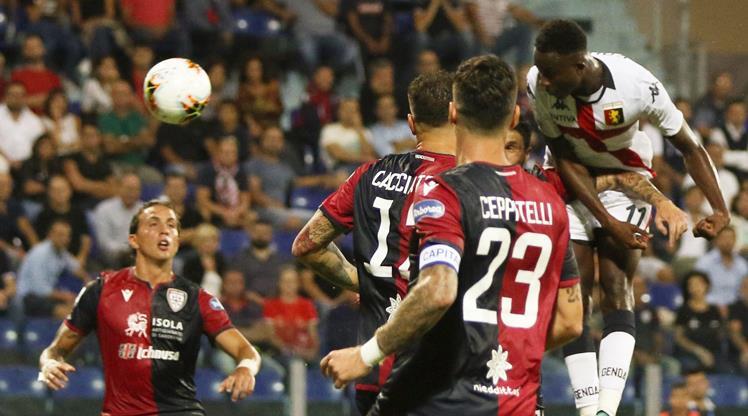 Cagliari'ye 3 dakika yetti