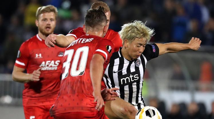 Partizan kaçtı, AZ Alkmaar yakaladı