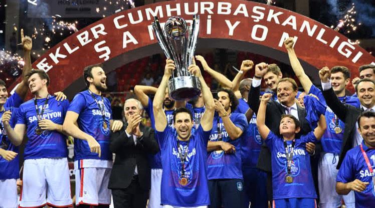 35. Cumhurbaşkanlığı Kupası Anadolu Efes'in