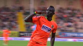 Cissé, golleriyle Alanyaspor'u sırtladı