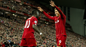 Liverpool şampiyonluk yolunda doludizgin