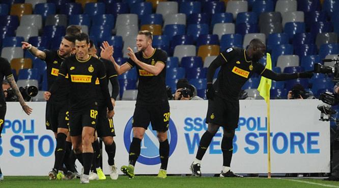 Inter, Napoli'yi Lukaku ile yıktı (ÖZET)