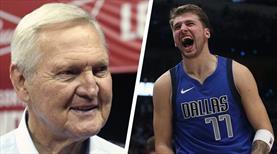NBA efsanesi West, Doncic'e övgüler yağdırdı