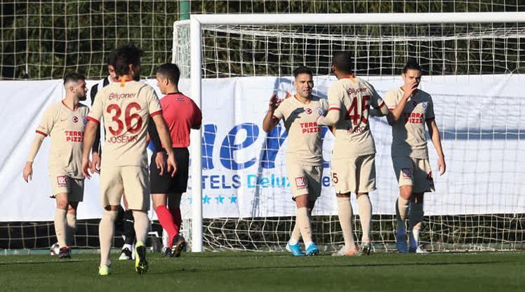 Galatasaray'dan iyi prova