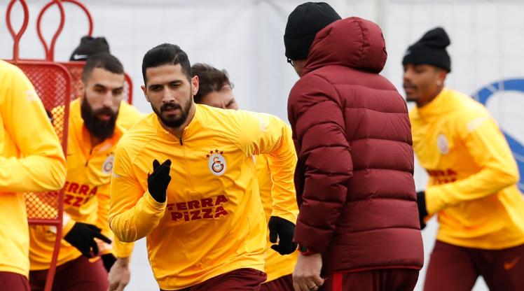 Galatasaray Çaykur Rize maçına hazır