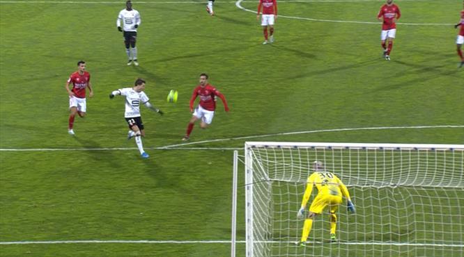 Rennes üçlük attı (ÖZET)