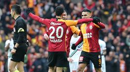 Galatasaray-Yukatel Denizlispor: 2-1 (ÖZET)