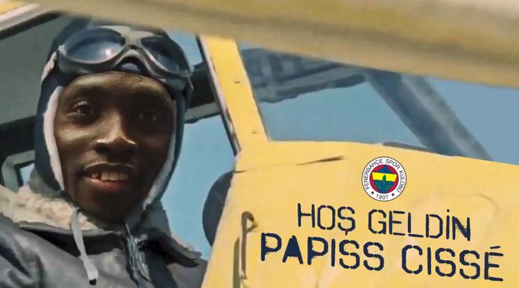 Papiss Cisse, resmen Fenerbahçe'de