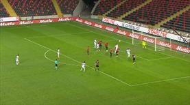 VİDEO | Trabzonspor taçtan golü buldu
