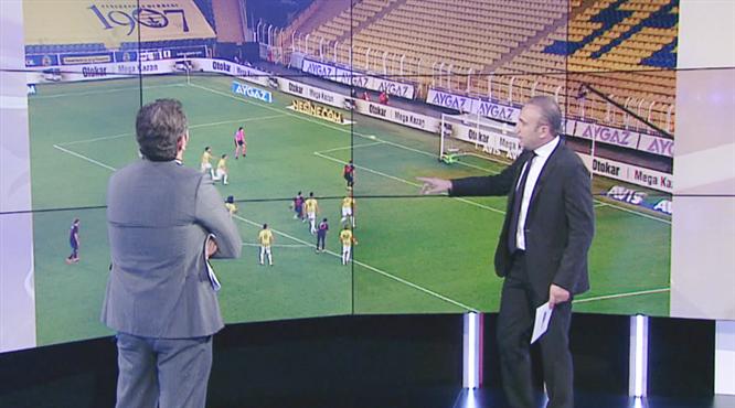 VİDEO | Maçın tartışmalı pozisyonları