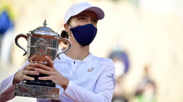 Fransa Açık'ta şampiyon Iga Swiatek