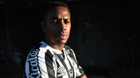 Robinho sembolik maaşla Santos'ta