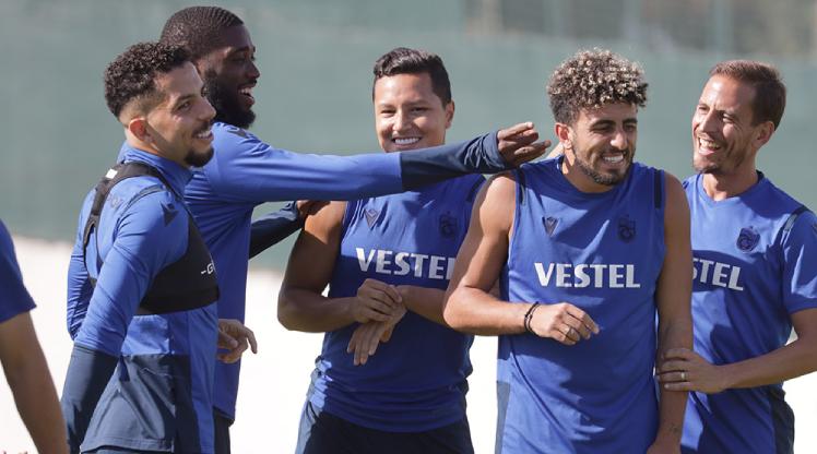 Trabzonspor'da 3 haftalık İstanbul mesaisi