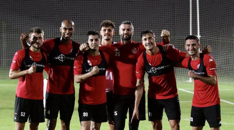 Antalyaspor'da hazırlıklar devam etti