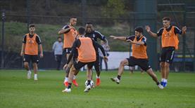 Beşiktaş'tan çift idman