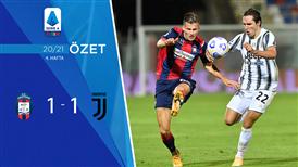 ÖZET | Crotone 1-1 Juventus