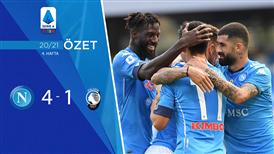 ÖZET | Napoli 4-1 Atalanta