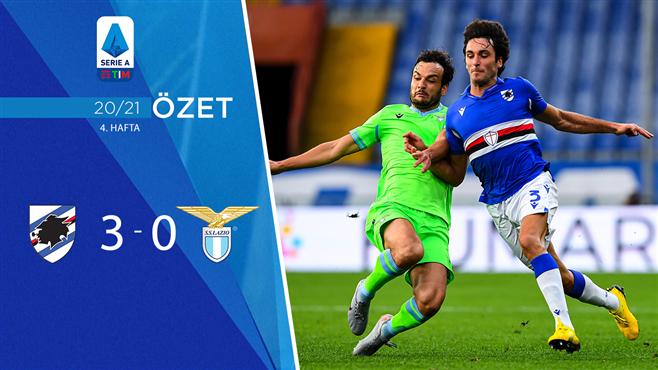 ÖZET | Sampdoria 3-0 Lazio