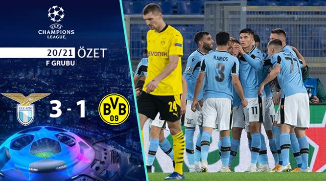 ÖZET | Lazio 3-1 Borussia Dortmund