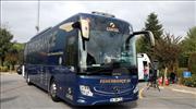 Fenerbahçe'de taraftarın tasarladığı otobüs tanıtıldı