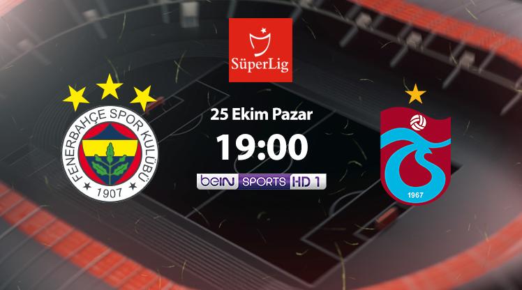 CANLI | Fenerbahçe - Trabzonspor