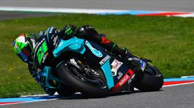 MotoGP'de zafer Morbidelli'nin