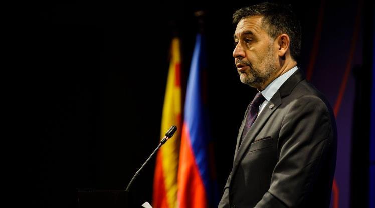 Barcelona'da Bartomeu istifa etti