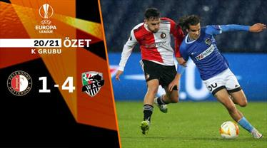 ÖZET   Feyenoord 1-4 Wolfsberger