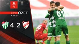 ÖZET | Bursaspor 4 - 2 Beypiliç Boluspor