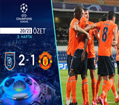 ÖZET   Başakşehir 2-1 Manchester United