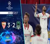 ÖZET | Sevilla 3-2 Krasnodar