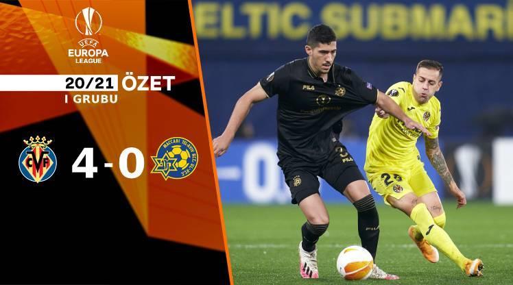 ÖZET | Villarreal 4-0 Maccabi Tel Aviv