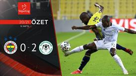 ÖZET | Fenerbahçe 0-2 İH Konyaspor