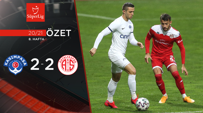 ÖZET | Kasımpaşa 2-2 FTA Antalyaspor