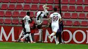A. Hatayspor Diouf'un kafa golüyle öne geçti