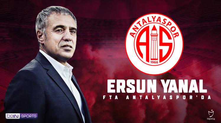 Ersun Yanal resmen FTA Antalyaspor'da
