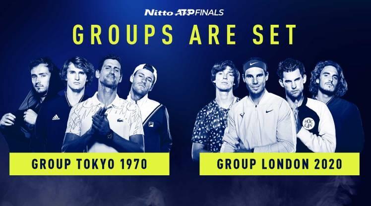 ATP Sezon Sonu Finalleri'nde gruplar açıklandı