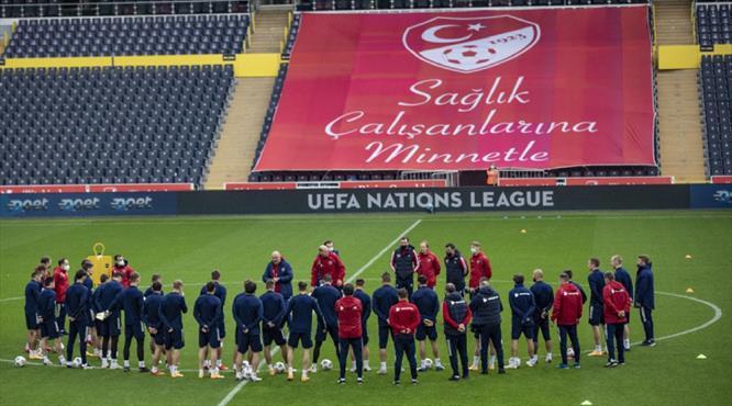 Rusya, Türkiye maçı hazırlıklarını tamamladı