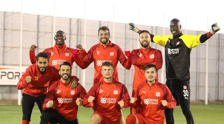 Sivasspor, Karagümrük'e hazırlandı