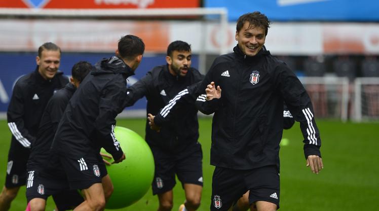 Beşiktaş'ta Başakşehir mesaisi