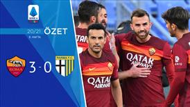 ÖZET | Roma 3-0 Parma