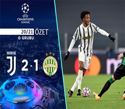 ÖZET | Juventus 2-1 Ferencvaros